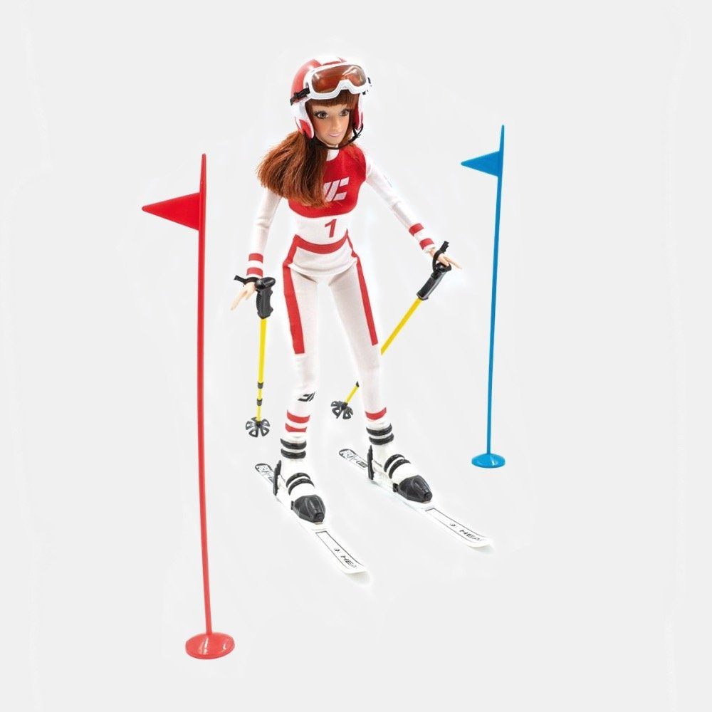 JC-10020 Sarah Katherina Ski Racer Doll