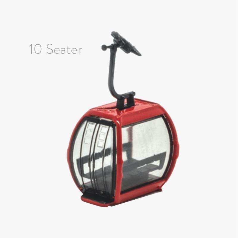JC-82101 HO Omega V 10 Seater Red